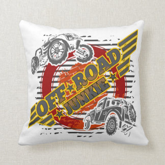 Off Road Junkie 4x4 Throw Pillow