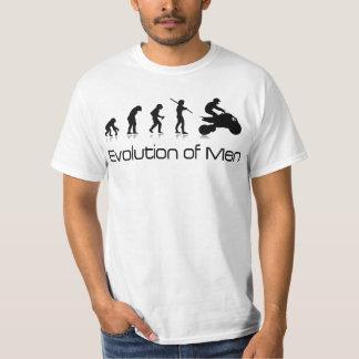 Off-road Mens T-shirt- Evolution of Men Quad T-Shirt