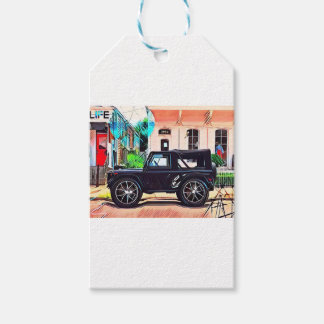OFF ROAD WARRIOR GIFT TAGS