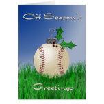 Off Season's Greetings Cards