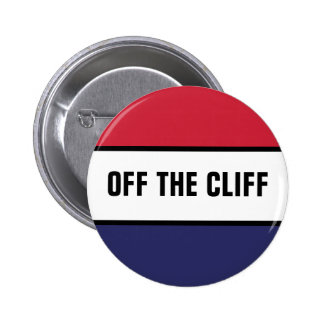 Off The Cliff Pinback Button