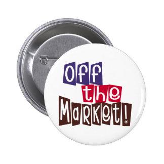 Off the Market 6 Cm Round Badge