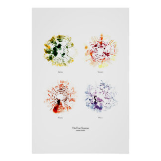 Off the Staff: The Four Seasons (separate, color) Poster
