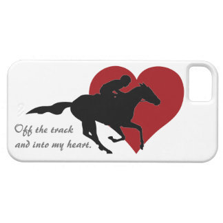 Off the track and into my heart iPhone Case