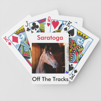 Off the Tracks Bicycle Playing Cards