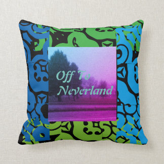 Off To Neverland Cushion