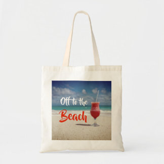 Off To The Beautiful Beach Tote Bag