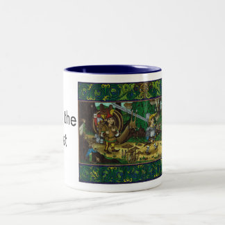 Off to the Joust, Fairy Knight Two-Tone Coffee Mug