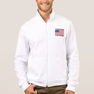 Offended USA Flag Help Pack Jacket