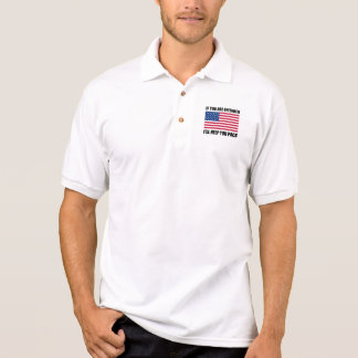 Offended USA Flag Help Pack Polo Shirt
