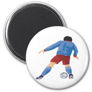 Offense 6 Cm Round Magnet