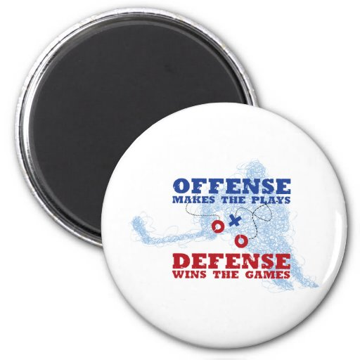 Offense Defense Refrigerator Magnets