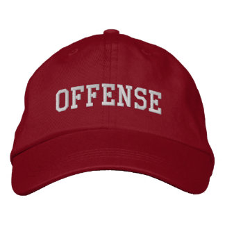 OFFENSE Hat Embroidered Hats