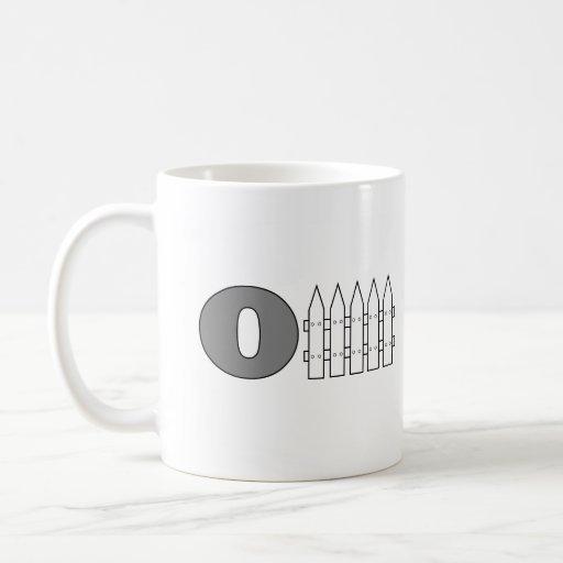 Offense (O Fence) Coffee Mug