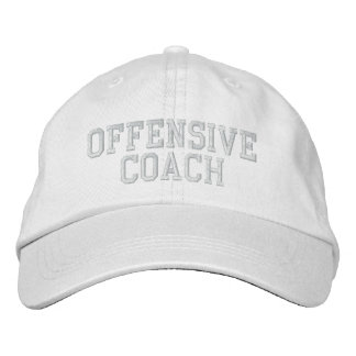 OFFENSIVE COACH Hat Embroidered Baseball Cap