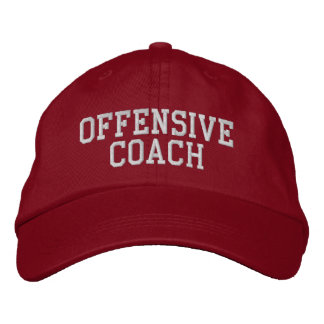 OFFENSIVE COACH Hat Embroidered Cap