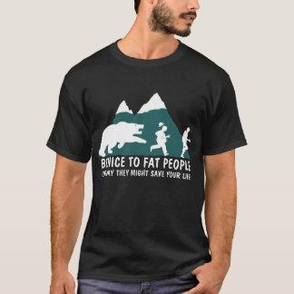 Offensive fat joke men's T-Shirt