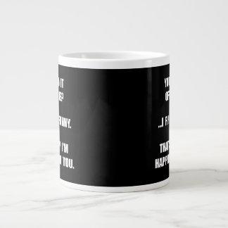 Offensive Happy Jumbo Mug