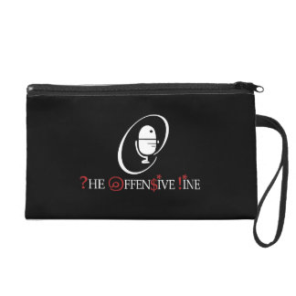 Offensive Line Clutch Wristlet