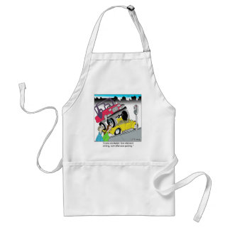Offensive Parking Aprons