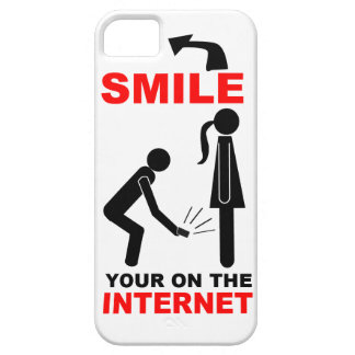 Offensive: Smile your on the internet Barely There iPhone 5 Case