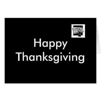 Offer Thanksgiving Greeting Card