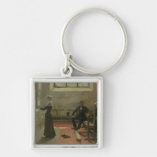 Offering to the Virgin the Day After the Silver-Colored Square Key Ring