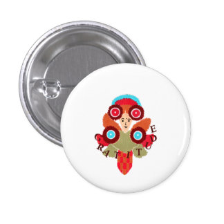 Offerings Of Gratitude-Positive, Whimsy Art Button