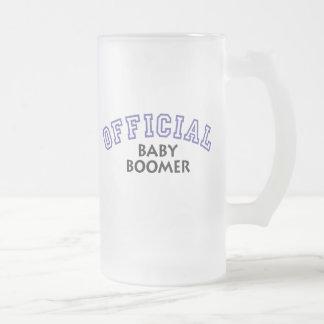 Offical Baby Boomer - Blue Mugs