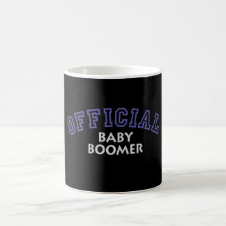 Offical Baby Boomer - Blue Coffee Mug