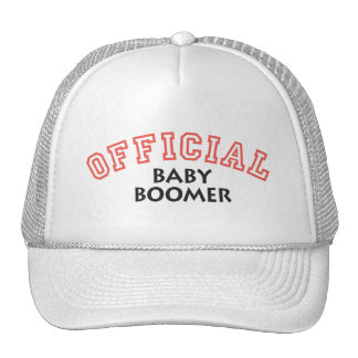 Offical Baby Boomer - Red Trucker Hat