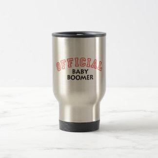 Offical Baby Boomer - Red Coffee Mug