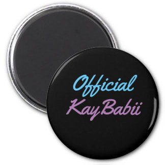 Offical KayBabii Magnent Magnet