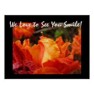 Office Artwork Prints We love to see You Smile!
