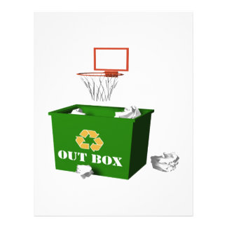 Office Basketball Full Color Flyer