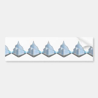 Office Building Bumper Sticker
