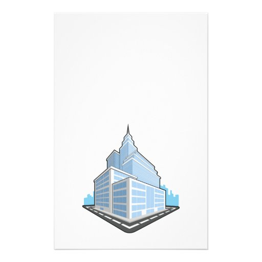 Office Building Full Color Flyer