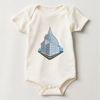 Office Building.pdf Baby Bodysuit