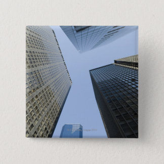 Office Buildings in Lower Manhattan 15 Cm Square Badge