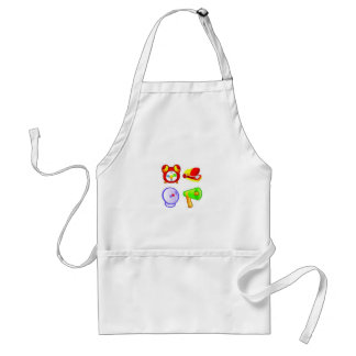 Office business icons design aprons