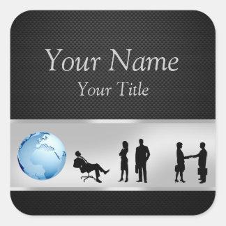 Office Business People World Globe - Sticker