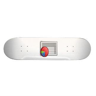 Office Chart Skateboard Decks