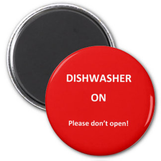 Office Dishwasher Notices Magnet