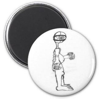 Office Eyeball 6 Cm Round Magnet