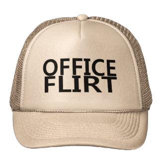 Office Flirt Trucker Hats
