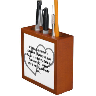 Office Home School Personalize Destiny Destiny'S Desk Organiser