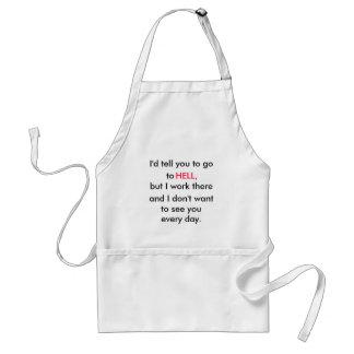 office  humour apron