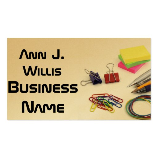 Office Information Technology Professional Business Cards