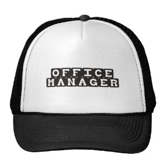 Office Manager Mesh Hat