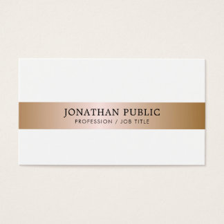 Office Modern Stylish Director Manager Luxury Business Card